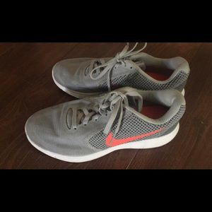 Nike Sneakers- Gray & Coral